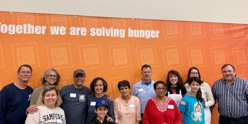 November 21, Volunteer Event at the Northern Illinois Food Bank